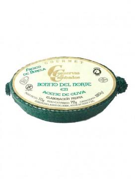 Bonito fresco de Burela en aceite de oliva Cambados Gourmet 120 g