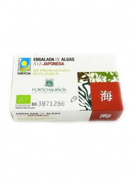 Ensalada de algas a la japonesa Porto Muiños 120 g