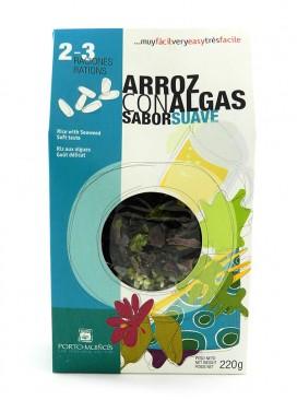 Arroz con algas sabor suave Porto Muiños 220 g