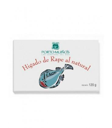 Hígado de rape al natural Porto Muiños 120 g