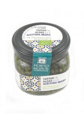 Tartar de algas a la aceituna negra Porto Muiños 170 g