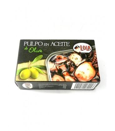 Pulpo en aceite de oliva Lola 115 g