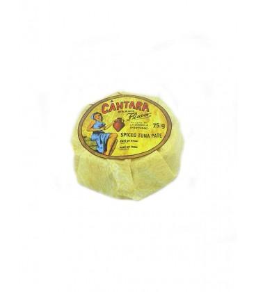 Paté de atún picante Cántara 75 g
