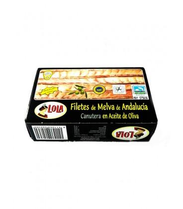 Filetes de Melva canutera de Andalucía IGP en aceite de oliva Reina del Guadiana 125 g