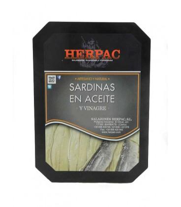 Sardinas en aceite y vinagre Herpac 300 g