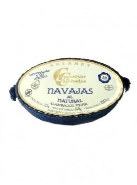 Navajas al natural Cambados Gourmet (4-6 uds) 120 g