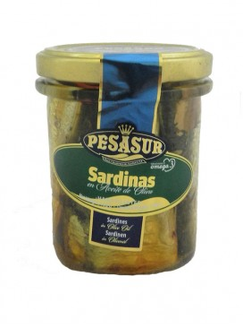 Sardinas en aceite de oliva Pesasur 195 g