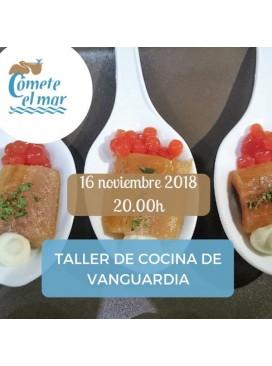 Plaza en taller cocina de vanguardia 16-11-18