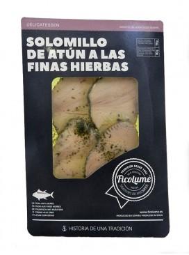 Solomillo de atún a las finas hierbas en aceite Ficolumé 110 g