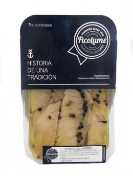 Ventresca de atún a la pimienta en aceite Ficolumé 480 g