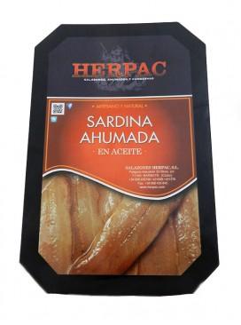 Sardinas ahumadas en aceite Herpac 300 g
