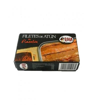 Filetes de atún en pimentón Lola 115 g