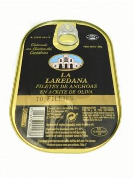 Anchoa del Cantábrico en aceite de oliva La Laredana (10 filetes)