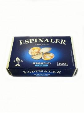 Berberechos al natural Espinaler (45-55) 120 g