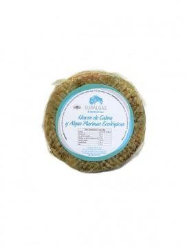 Queso de cabra semicurado con algas marinas Suralgas 340 g