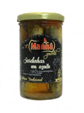 Sardinas en aceite de oliva Manná Gourmet 250 g