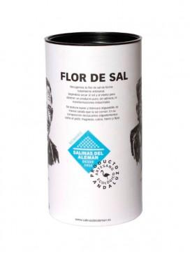 Flor de sal ecológica Biomaris Salinas del Alemán 300 g