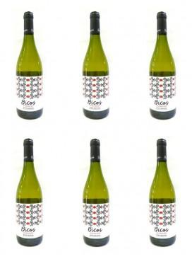 Bicos Albariño Rias Baixas 75 cl (6 botellas)
