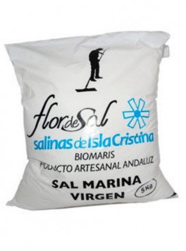 Sal marina virgen ecológica gruesa Biomaris Salinas del Alemán 3 Kg