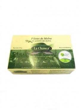 Filetes de melva en aceite de oliva La Chanca 125 g