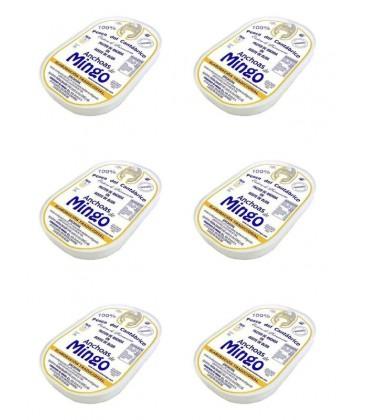 Anchoa del Cantábrico en aceite de oliva Mingo (14 filetes)