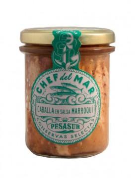 Caballa en salsa marroquí Chef del Mar Pesasur 195 g