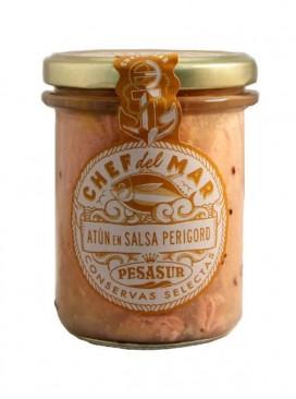 Atún en salsa Perigord Chef del Mar Pesasur 195 g