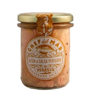Atún en salsa Perigord Chef del Mar Pesasur 200 g