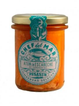 Atún en escabeche de zanahorias Chef del Mar Pesasur 200 g