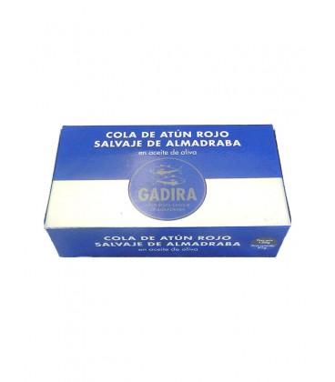 Cola de atún rojo salvaje de almadraba en aceite de oliva Gadira 120 g