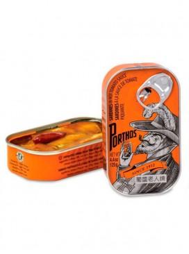 Sardinas en salsa de tomate picante Porthos 125 g