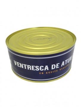 Ventresca de atún claro en aceite vegetal El Barco de Paco 1000 g