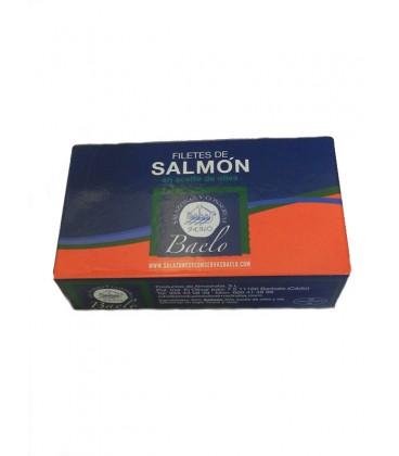Filetes de salmón en aceite de oliva Baelo 120 g