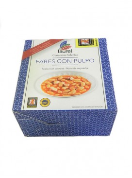 Fabes con pulpo Laurel 420 g