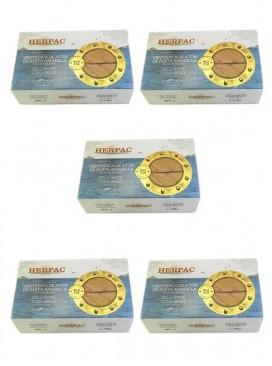 Ventresca de atún en aceite de oliva Herpac 120 g (Pack 5 latas)