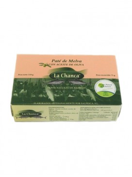 Paté de melva con aceite de oliva La Chanca 110 g