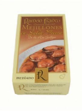 Mejillón en salsa de vieira Ramón Franco (12-16 uds.) 115 g