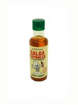 Salsa de aperitivo picante Espinaler 92 ml