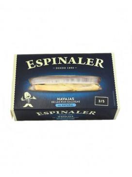 Navajas de las Rías Gallegas al natural Espinaler (3-5 uds) 120 g