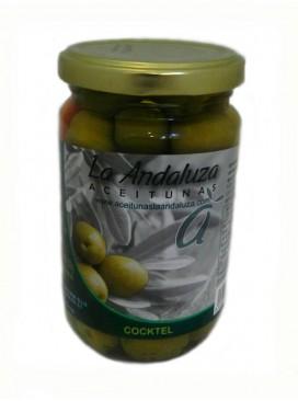 Coctail de aceitunas sabor a anchoa La Andaluza 200 g