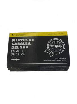 Filetes de caballa del sur en aceite de oliva Ficolumé 115 g