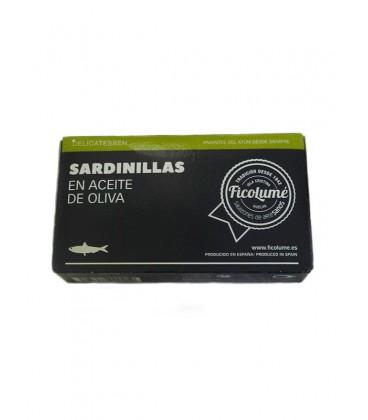 Sardinillas en aceite de oliva Ficolumé 85 g