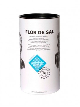 Flor de sal en escamas ecológica Biomaris Salinas del Alemán 300 g