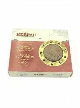 Mormo de atún rojo en aceite de oliva Herpac 245 g