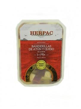 Banderillas de atún y queso en aceite Herpac (12 uds.)