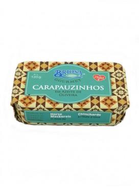 Jurelitos en aceite de oliva Briosa Gourmet 120 g