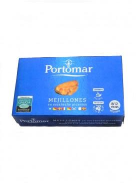 Mejillón de las Rías Gallegas en escabeche picante Portomar (8/12) 111 g