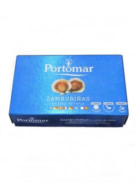 Zamburiñas en salsa de vieiras Portomar 115 g