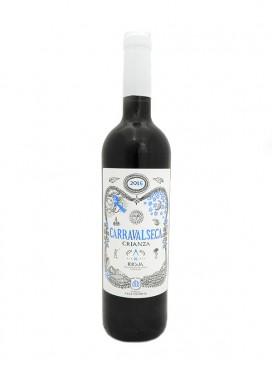 Carravalseca crianza 2016 tinto ecológico Rioja 75 cl