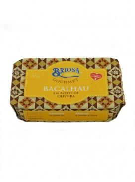 Bacalao en aceite de oliva Briosa Gourmet 120 g